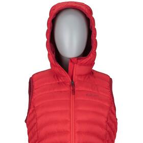 Marmot W's Bronco Hooded Vest Scarlet Red